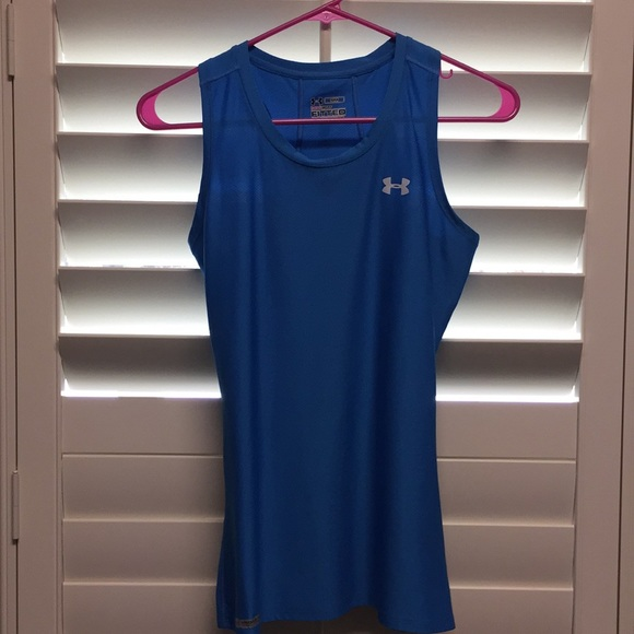 Under Armour Tops - Under Armor heat gear fitted small